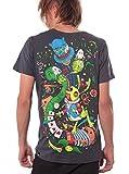 Photo de Street Habit T-Shirt Homme Psychédelique Alice Au Pays des Merveilles par Street Habit