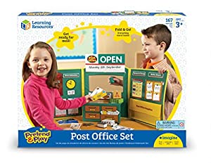 Learning Resources- Oficina de Correos Pretend & Play, Color (LSP2666-UK)