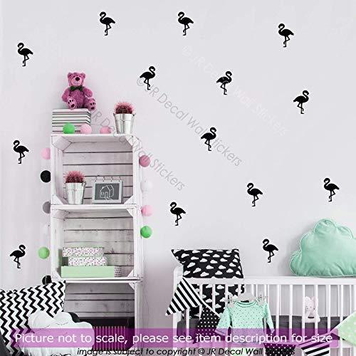 amingo Kinderzimmer Wandaufkleber, abnehmbare Vinyl Wandtattoos, Kinderzimmer Dekor, Küche, Mädchen Schlafzimmer Dekor, Bad Fliesen Aufkleber ()