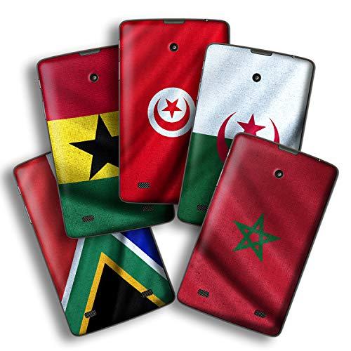 atFolix Designfolie kompatibel mit LG G Pad 7.0, Skin Aufkleber (Flaggen aus Afrika) (0 7 Pad G)