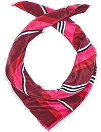 HALLHUBER Small silk scarf with stripe pattern