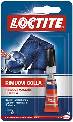 Scollatutto - Rimuovi colla in GEL HENKEL - LOCTITE 1604272 5g super attak