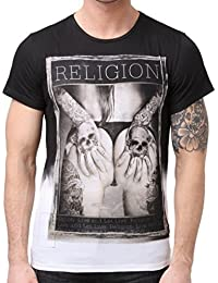 "RELIGION CLOTHING hommes Tee-shirt "" Grabbing """