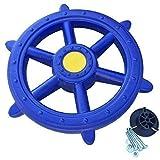 Loggyland Schiffslenkrad Piratenlenkrad Ø 48cm blau - Spielturm Zubehör
