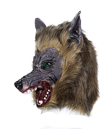 Faschingskostüm,Fasching,Halloween Maske Werwolf