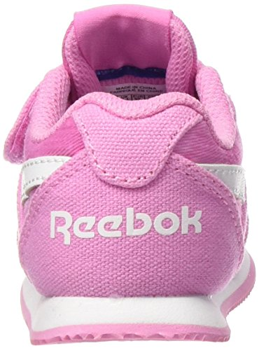 Reebok Royal Cljog 2gr Kc, Baskets Basses Bébé Garçon Multicolore - Rosa / Blanco (Icono Pink / Wht)