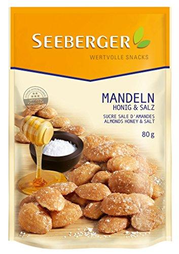Seeberger - Mandeln Honig & Salz - 80g (Und Honig Salz)