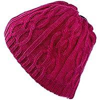 Dosige Sombrero de Hombre de otoño e Invierno Bib de Punto Conjunto de Gorra  para Montar e37a68c96d0