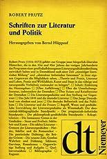 Schriften zur Literatur und Politik hier kaufen