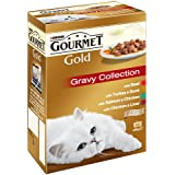 Purina Gourmet Gold Cat Food Gravy Collection, 12 x 85 g - Pack of 8