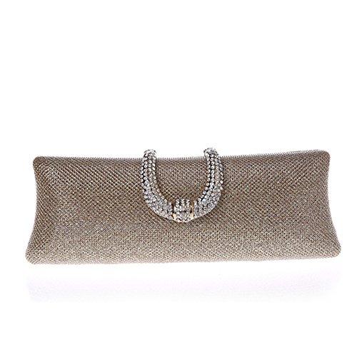 Strass fibbia bag/Package banchetto/ mano sacchetto di moda/Clutch bag in Europa e America-A A