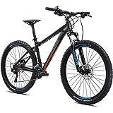 27,5 Zoll MTB Fuji Nevada 27.5 2.0 LTD Sport Trail Mountainbike Fahrrad, Rahmengrösse:48 cm, Farbe:Satin Black