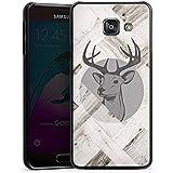 Samsung Galaxy A3 (2016) Housse Étui Protection Coque Cerf Bois Forêt