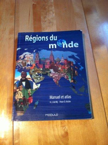 Regions du Monde Manuel Atlas