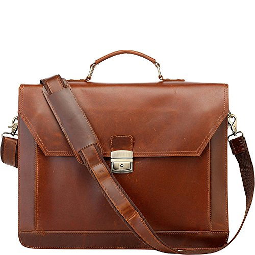 Vicenzo leather co. bag, sac à main pour femme - - Hellbraun
