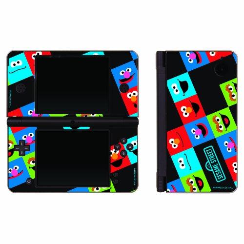 Nintendo DSi XL Sesamstrasse Freunde Aufkleber Set 3-teilig