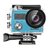 AKASO Action Kamera Brave 4 4K 20MP WiFi Action Cam Ultra HD mit Bildstabilisierung Bild Zoom 30m...