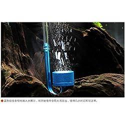 1Pieza Acuario Difusor atomizador de Co2sistema atomizador de dióxido de carbono para Fish Tank Acuario Acuático Agua Planta