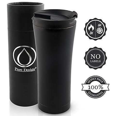 Insulated Coffee Mug / Thermal & Elegant - suitable for travel / Leak proof Mug 450 ml in Gift box - 100% Mone back GUARANTEE