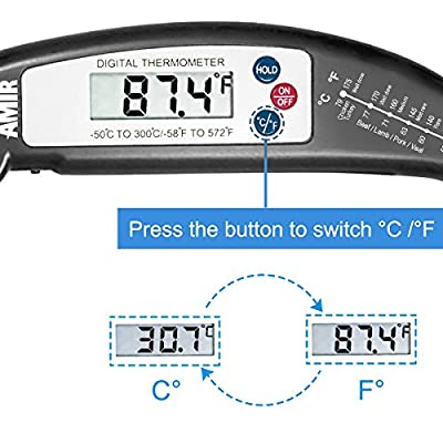 Criacr Meat Thermometer, KA1 Food Thermometer