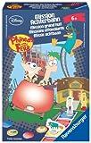 Ravensburger 23345 - Disney Phineas & Ferb: Mission Achterbahn - Mitbringspiel