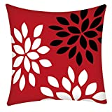 Housses de Coussin,Taies d'oreiller,Coussin&Oreiller Housse Géométriques en Couleurs Linge de Lin en Coton Housse de Coussin Décor de Maison Throw Pillow Case Carrée Cushion Cover