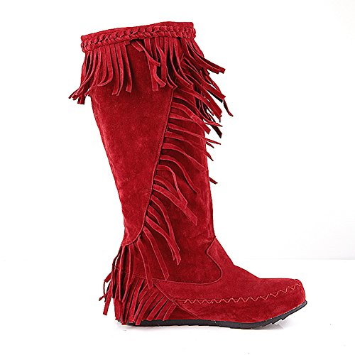 BalaMasa , Chaussons montants femme red