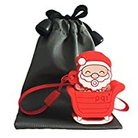 Mixse Novelty USB Memory Stick 4GB with Gift Bags, Christmas Santa Claus Cartoon USB Stick for Kids