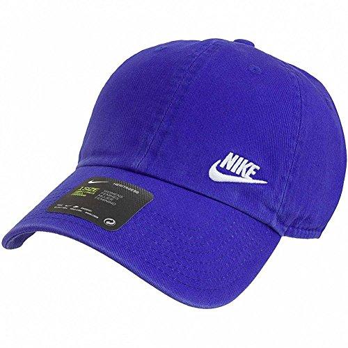 Nike Gorras (Nike W nk H86Cap Futura Classic Cap, Damen Einheitsgröße Blau (deep night / weiß))