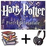 Harry Potter e la pietra filosofale: (t.1) Audiobook PACK [Book + 2 CDMP3] (Italian Edition)