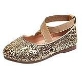 Zapatos de Baile Lentejuelas para niñas, Bebé Infantil Niñas pequeñas Lentejuelas Bling Princesa Zapatos Absolute