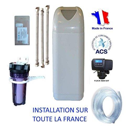 Adoucisseur d'eau FLECK NEVADA 22 litres Volumétrique + accessoires
