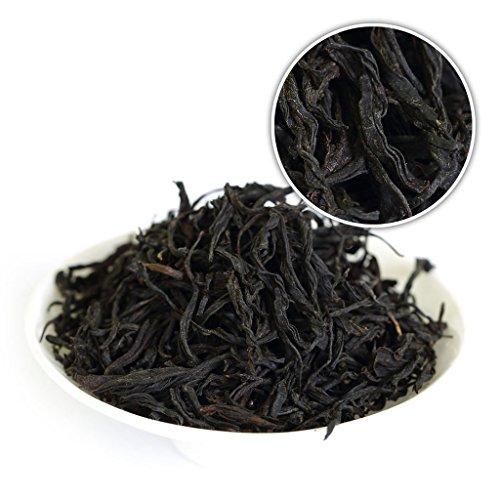 GOARTEA 250g (8.8 Oz) Organic WuYi Lapsang Souchong Black buds Zheng Shan Xiao Zhong Loose Black Tea * Light Smoky tee