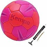 Kempa Handball pink/petrol mit oder ohne Ballpumpe (2 mit Ballpumpe)