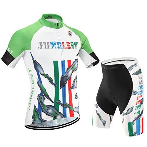 Maillot de Cyclisme Homme Manches Courtes jersey(S~5XL,option:Cuissard,3D Coussin) N43