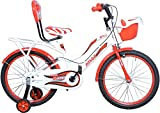 Atlas Bliss IBC TT 20T 20 T Single Speed Recreation Cycle (White, Red)