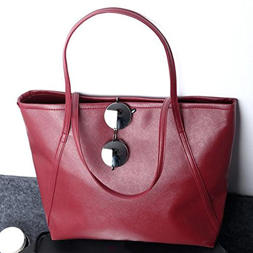 ORIGINALTREE, Borsa tote donna, Black (nero) - MGP0194401Y30MP5754 Wine Red