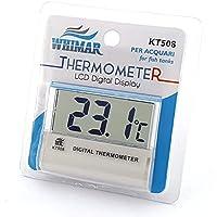 Whimar kt508–Termómetro digital adhesivo externo con pantalla LCD