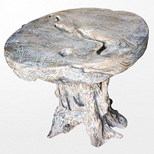 Atypik Home Table Ronde en Teck Naturel