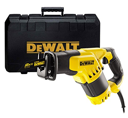 DEWALT DWE357K-GB 240V COMPACT RECIPROCATING SAW 1050 WATT