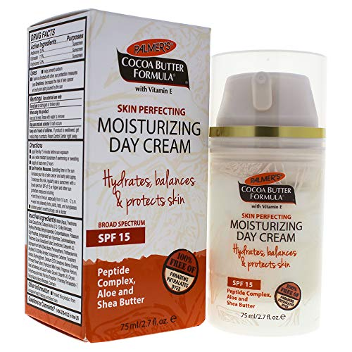 Palmers Cocoa Butter Skin Perfecting Moisturising Day Cream SPF 15 by for Unisex, 2.7 oz