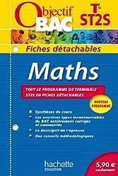 Objectif Bac - Fiches détachables - Maths Terminale ST2S