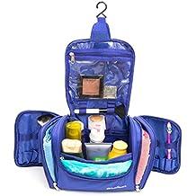 Sirius Sport Grande da Appendere per trucco, Beauty case Cosmetic Bag, Bagno con gancio. Impermeabile Wash Bag