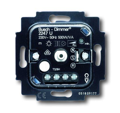 Busch-Jaeger 2247U Busch-Dimmer Einsatz 2247 U