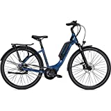 Unbekannt Falter E-Bike E 9.0 28 Zoll Wave blau/schwarz 45 cm 400 Wh Rücktrittbremse