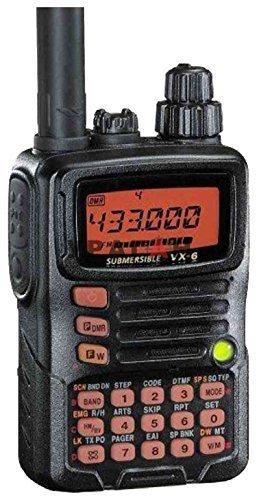 Yaesu VX-6 Submersible Amateur Ham Radio Transceiver by Yaesu (Amateur Yaesu Radio)
