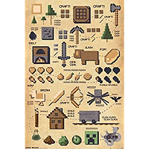 Minecraft – Pictograph Maxi-Poster
