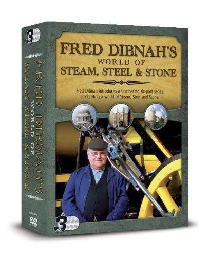 FRED DIBNAH'S WORLD OF STEAM, STEEL & STONE Triple Pack [DVD] [UK Import]