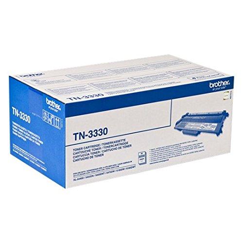 Brother Original Tonerkassette TN-3330 schwarz (für Brother HL-5440D, HL-5450DN, HL-5450DNT, HL-5470DW, HL-6180DW, HL-6180DWT, DCP-8110DN, DCP-8250DN, MFC-8510DN, MFC-8520DN, MFC-8950DW, MFC-8950DWT) (Brother Hl-serie)