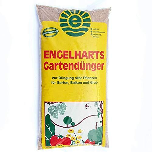 2,5 kg Engelharts Gartendünger: organischer Dünger | Naturdünger | Universaler Pflanzendünger | NPK Langzeitdünger | Universaldünger | Dünger mit Hornmehl